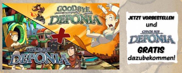 [STEAM]Chaos auf und Goodby Deponia