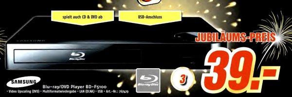 [Lokal] Medimax Samsung BD-F5100 Blu-ray Player 39 Euro