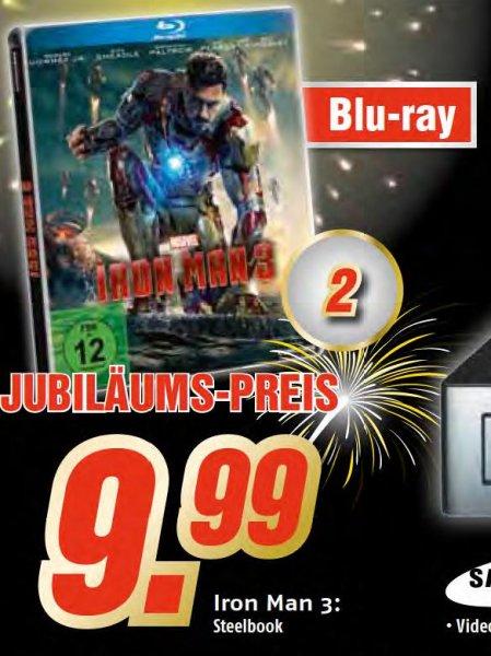 [MediMax Berlin/BB] Iron Man 3 BluRay Steelbook - 9,99€