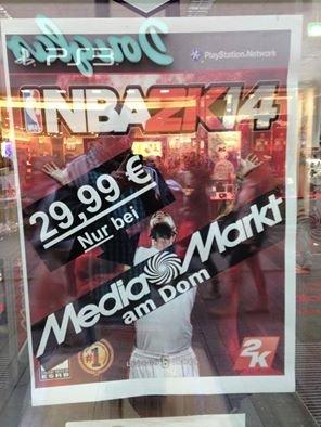 [Lokal Köln] NBA 2k14 PS3