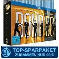 James Bond - Bond 50: Die Jubiläums-Collection [Blu-ray]  bei Abschluss eines CINEMA Abos.