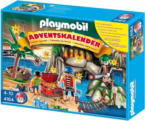 PLAYMOBIL 4164 Adventskalender Piraten-Schatzhöhle+weitere versch.Ausführungen für 9,98€ bei Thomas Philipps [bundesweit in den Filialen]