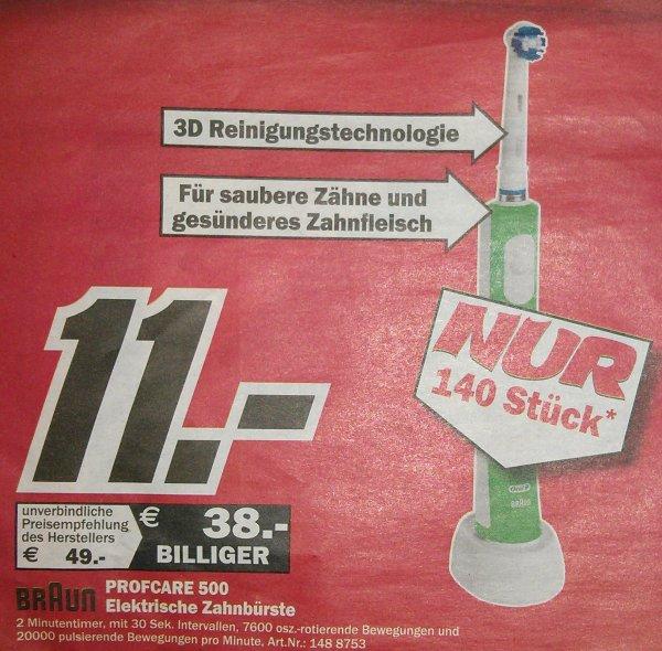 [Lokal Rostock] Braun Oral-B Professional Care 500 für 11€
