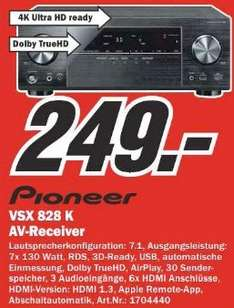 [LOKAL] MM Berlin Pioneer VSX 828 K AV-Receiver 7.1 4K AirPlay 130 Watt für 249€