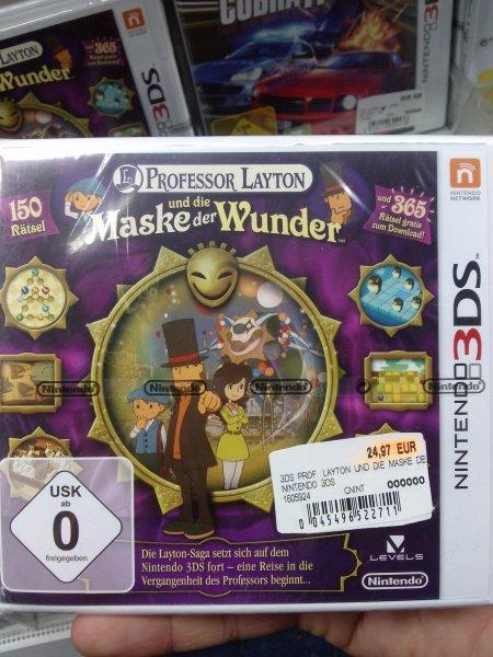 Professor Layton und die Maske der Wunder 3DS lokal Kassel Saturn
