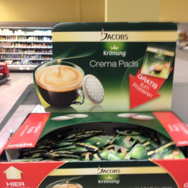 [OFFLINE/ BERLIN] - Gratis Jacobs Kaffepads ...