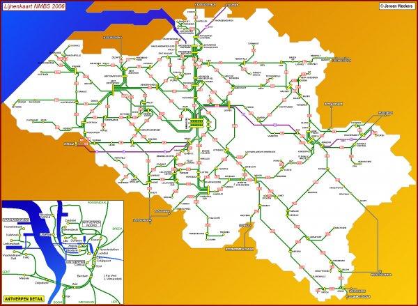 (unter 26) GoPass 1 Ticket für Reisen in Belgien für nur 6€ von der NMBS/SNCB