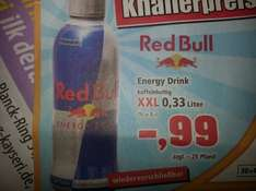 RED BULL 0,33L 99 cent!!!