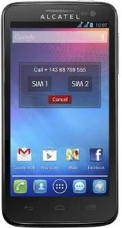 "[Marktkauf] Alcatel One Touch X' Pop 5035D, 4,5"" Dualsim Handy mit Android 4.0"