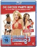 nochmal reduziert: Die große Partybox: (3 Blu-rays: Sammeledition College Animals 1-3) @ Amazon.de