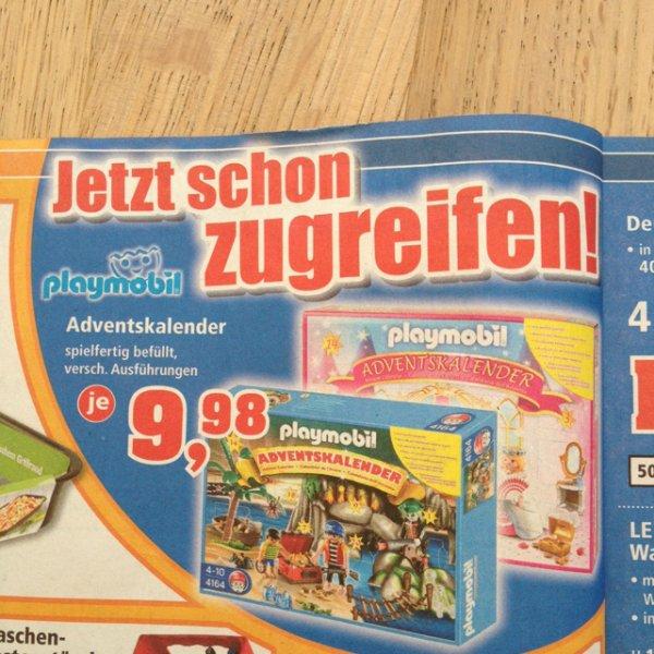 Playmobil Adventskalender bei Thomas Philipps für 9,98 Euro [lokal]