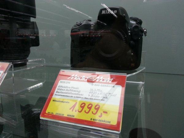 [Lokal Berlin] Nikon D800 Body