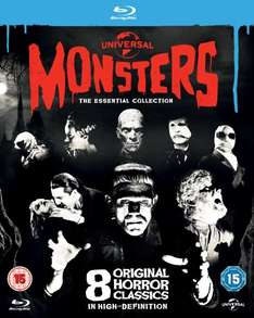 [Blu-ray] Universal Classic Monsters: The Essential Collection (8 BDs)