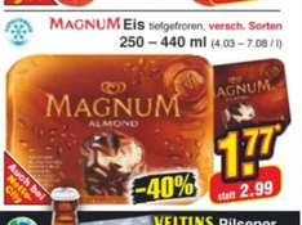 Magnum versch. Sorten ab Montag 7.10