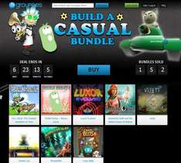[Steam/Desura/Steam Greenlight] [Groupees] Build a Casual Bundle (1,10€ 2 Spiele Minimum)