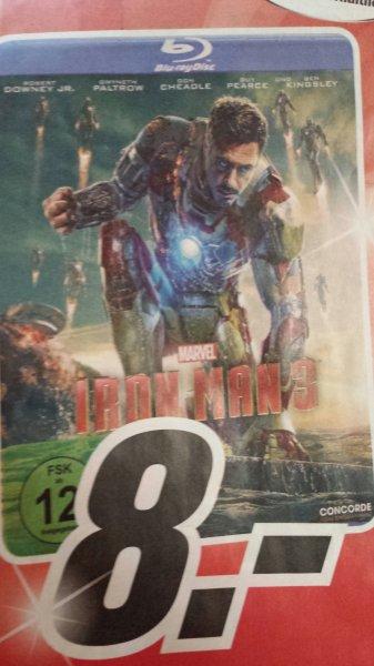MM Berlin Iron Man 3 8,- + 5. Staffel the Big Bang Theory für 10,-