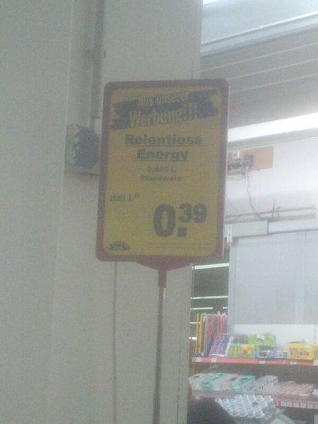 Relentless Energy nur 0,39€