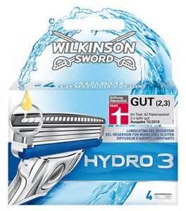 [Rossmann offline] Wilkinson Hydro 3 ; Rasierer +  4  Ersatzklingen,auch Hydro 5 und andere