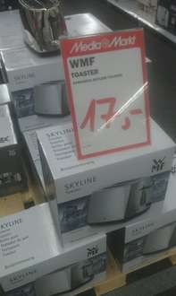 WMF Toaster Skyline für 17€ @ Media Markt Borsigallee Frankfurt/Main (Hessen-Center)