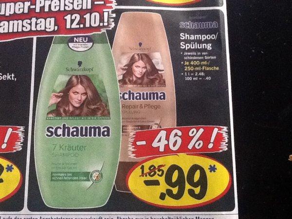 (Offline+bundesweit) Schauma Shampoo/Spülung 0,99 Euro @Lidl und Kaufland
