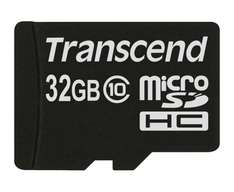 Transcend 32GB microSDHC Extreme-Speed Class 10 für 17,90€ @Amazon Prime