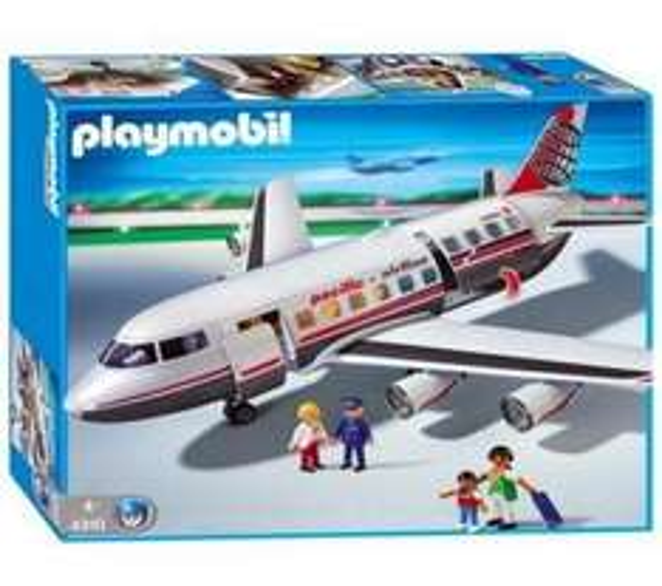 Playmobil Großes Verkehrsflugzeug