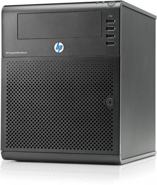 HP ProLiant G7 MicroServer N54L 1P 2 GB-U SATA 250 GB, Netzteil mit 150 W, Server