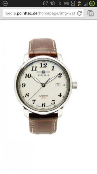 div. Zeppelin Automatik Uhren für 159,20 statt 199