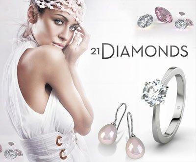 44% Rabatt auf verschiedene Uhren- und Schmuckmarken bei 21diamonds.de, z.B. Festina, Casio, Pandora, Boss, Lacroix, etc.