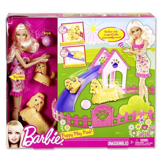 "Mattel™ - Barbie ""Hunde-Spielplatz"" ab €9.- [@Real.de]"