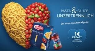 Barilla Pasta und Sauce bei Edeka Südwest für zusammen 1,28 €!