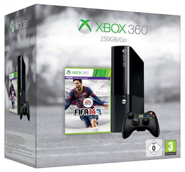 Microsoft Xbox 360 E 250GB + FIFA 14 für 207€ @Amazon.uk