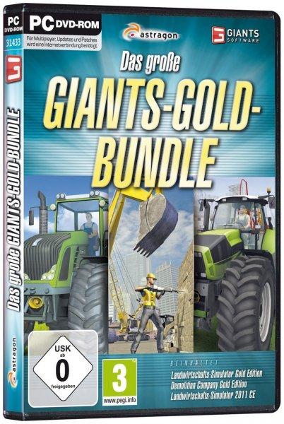 3 PC Spiele bei Saturn Online für je 3€ zzgl. Vsk (z.B. Das große GIANTS-GOLD-BUNDLE = Landwitschaftssimulator)