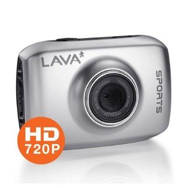Sportkamera - Lava LC-1001 (5MP, HD 720p) 2,0 Zoll LCD mit Zubehör für 33.33 € @ DC