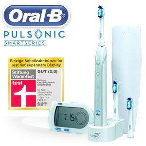 ORAL-B Pulsonic S32533 mit 75,90€ (inkl. VSK) 28,55€ unter idealo - heute bei ibood