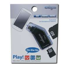 Archgon USB 2.0 OTG On the go Micro B Card Reader Android OS Smartphones/Tablets