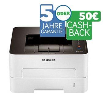 Samsung Drucker Cashback oder Garantieverlängerung auf 5 Jahre