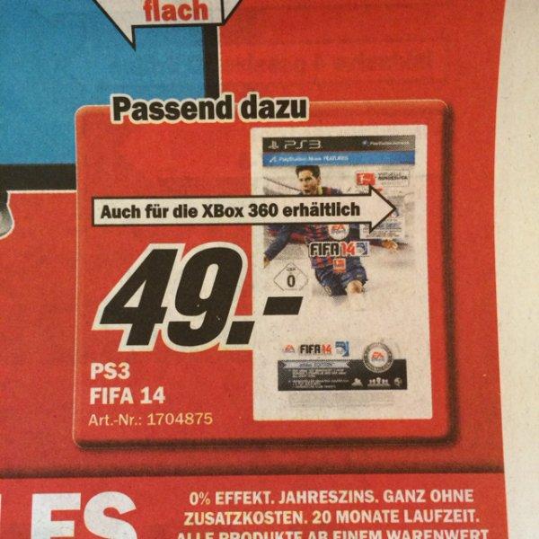 [Lokal Bremen] FIFA 14 für PS3 und XBox 360