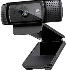 Logitech C920 USB HD Pro Webcam (Autofokus, Mikrofon) schwarz für 65€ @Amazon