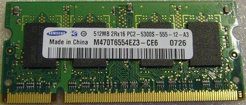 Arbeitsspeicher DDR-2 SDRAM 512MB 5300S SO-DIMM Samsung