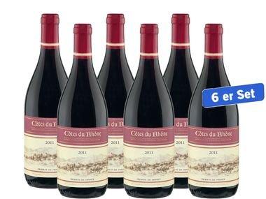 6x 0,75l Côtes du Rhône Générique AOP (@Lidl.de)