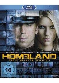 [Lokal Media-Markt Mainz] Bluray Homeland Staffel 1