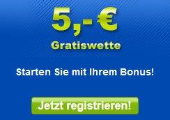 5€ Gratiswette bei Mybet für Neukunden (Aktion bis 31.10.)