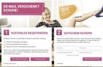 20€ Zalando Gutschein für kostenlose De-Mail Registrierung bei der Telekom (kein MBW)