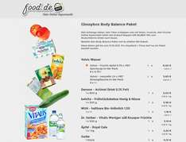 Body Balance Paket mit 46% Rabatt