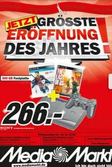 [Lokal] Hannover Media Markt PS 3 500GB + FIFA 14 und The Last Of Us