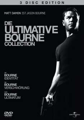 The Ultimate Bourne Collection [3 DVDs] für rund 8,80€ @ zavvi.com