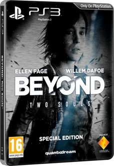 [Rakuten.de] Beyond: Two Souls Special Edition Steelbook  PEGI - Sony PlayStation 3