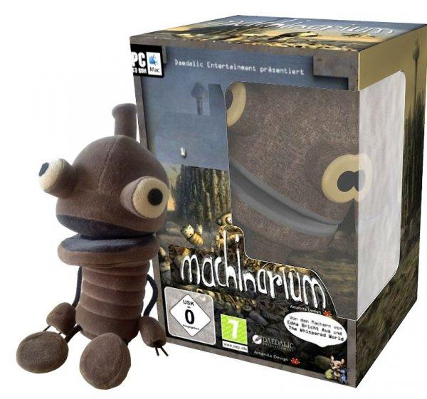 Machinarium - Limited Fan-Edition + Plüschfigur & Botanicula PC