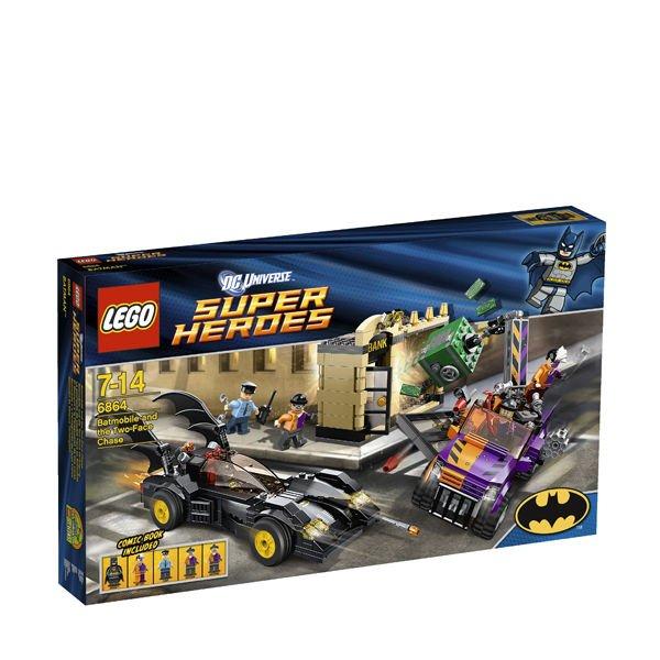Lego Super Heroes - Batmobil und Two-Face Verfolgung - 6864 - bei SOWIA für 39,03 Euro